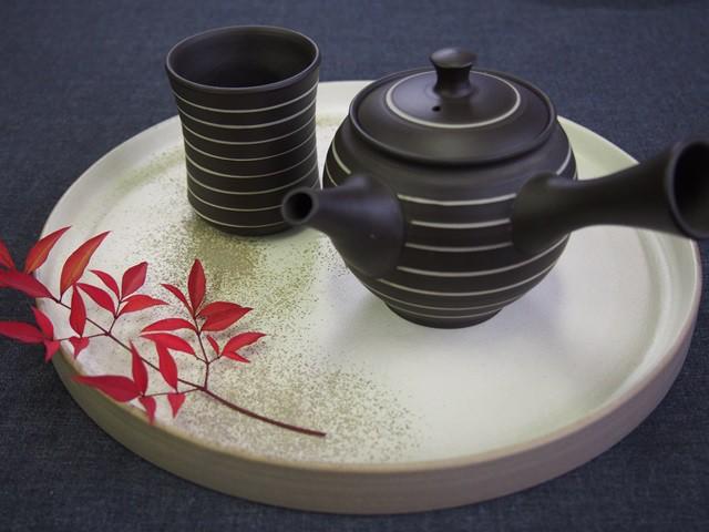日本を楽しむお茶時間。常滑焼茶器の匠