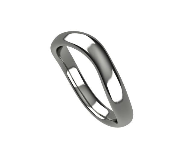 カジュアルジュエリーから結婚指輪まで!うねりを強調した「ウェーブリング」
