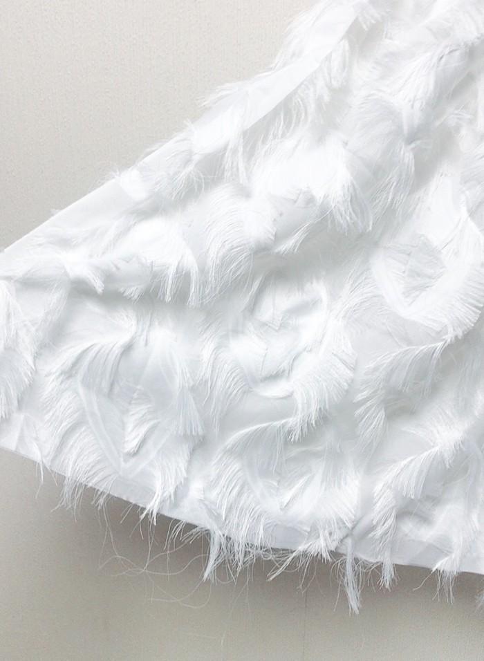 フェアリーな純白の『大人可愛いスカート』のご紹介♪
