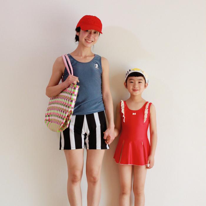 ママ目線で作った、カジュアルで着やすい「ちょうど良い!」水着