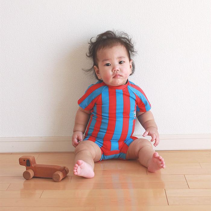 お子さまを想う大切な気持ちを形にした、wacco(ワッコ)のベビー水着