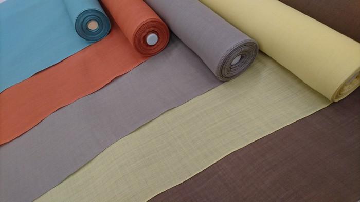 オリジナル本麻上布の新色とリピート2色が待ち遠しい