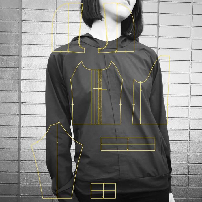 パターン=構造からもデザインを楽しめる服づくり。こだわりのディテールに注目!