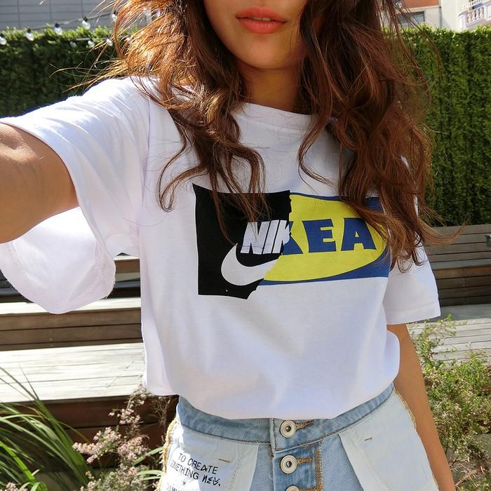 着ている自分がインスタ映えするロゴTシャツ