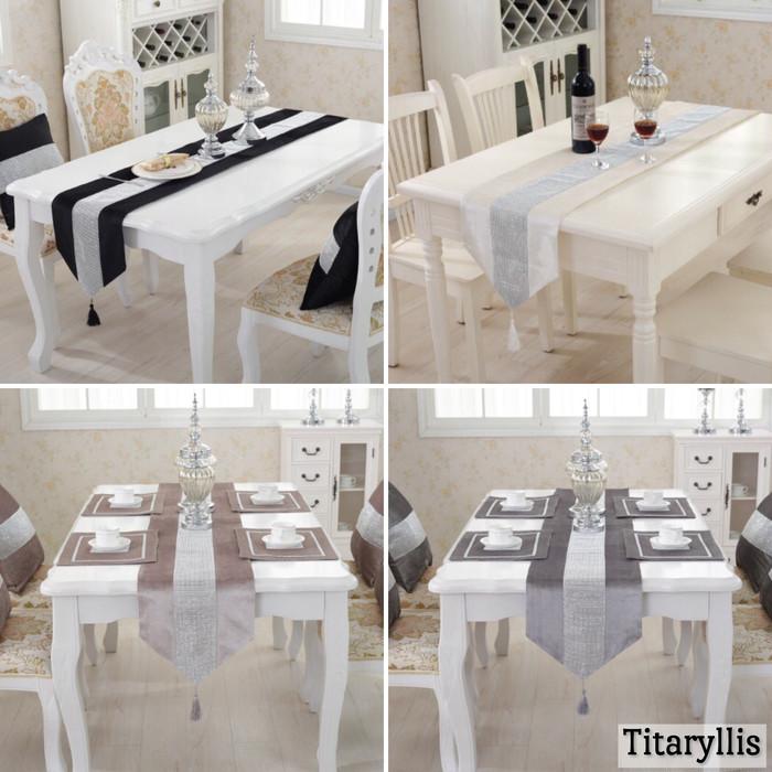欧米系テーブルランナーで豪華な食卓に☆