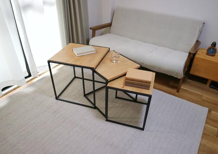 大好評!3つのテーブルを自由自在にレイアウトできるスタッキングテーブルが新登場!