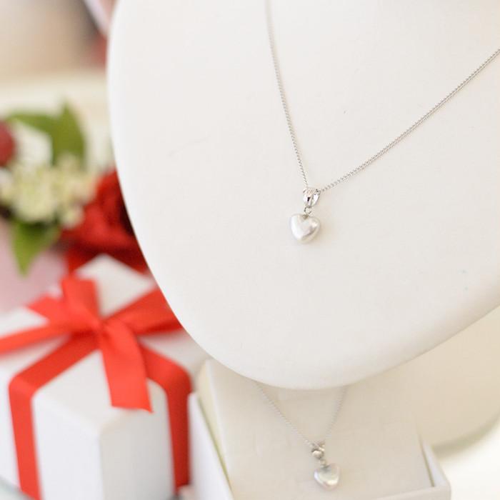 希少、アコヤ真珠で作ったハートのペンダント!
