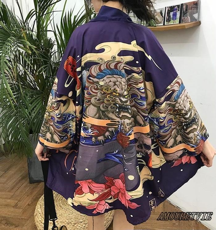 迫力ある和風のデザインで思わずお祭りやイベントに着ていきたくなる!!そんな羽織のご紹介です♪