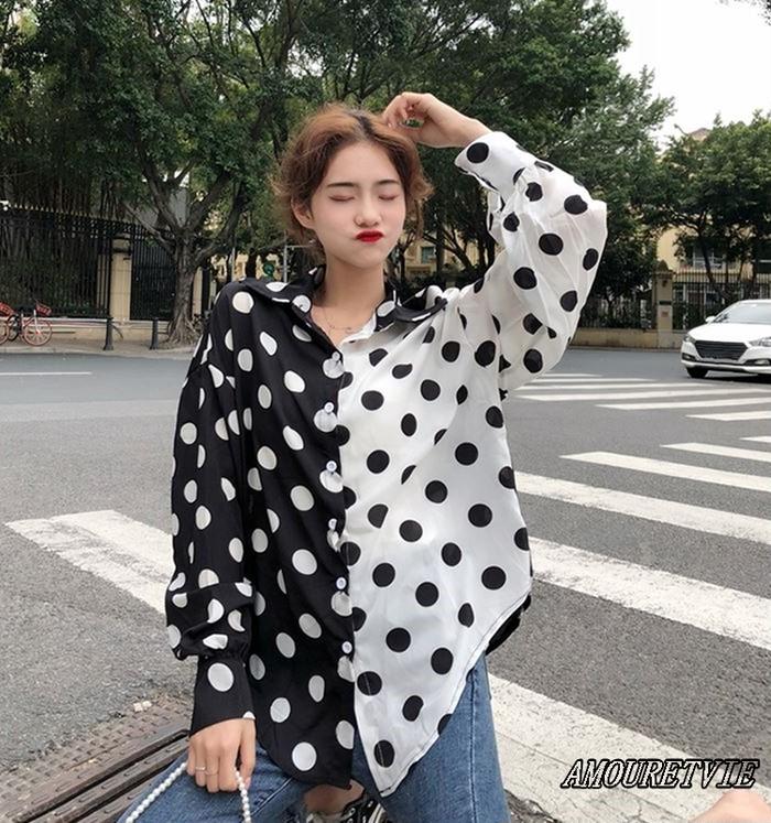 印象的なヴィジュアルだけじゃない!!定番水玉シャツを現代風に進化させた自慢の一着です☆