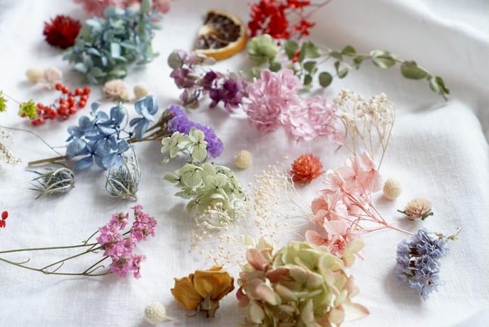花材だってBASEで簡単に買える!可愛いお花を沢山詰めてお届けします♡