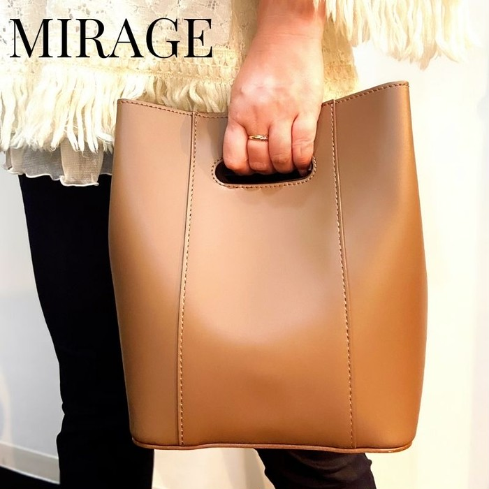 【新商品入荷!】持ち方いろいろ3wayバケツ型バッグ