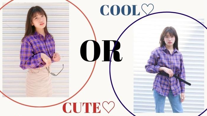 【Runaちゃん着用】Cute or Cool ?