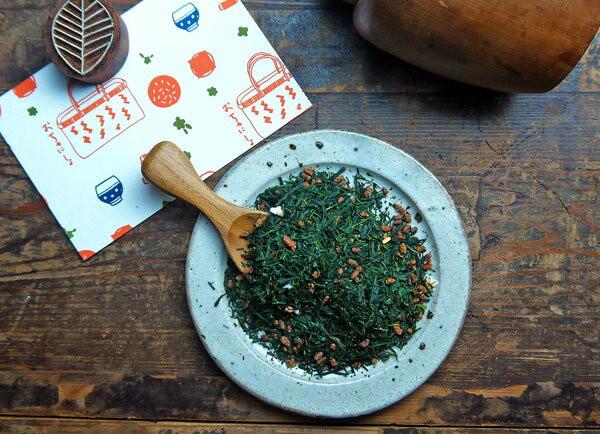 玄米茶はお好きですか。