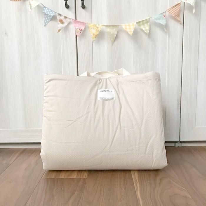 お昼寝布団は保育園だけじゃない⁈韓国のシンプルでお洒落なお昼寝布団、赤ちゃんにも好評です!