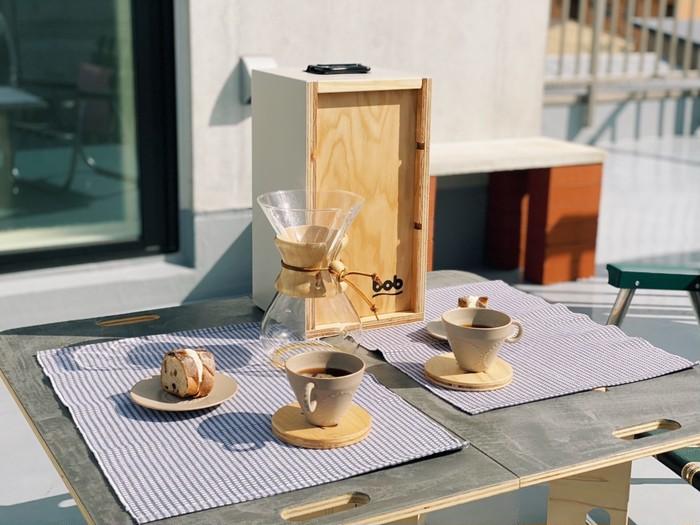 お外でコーヒーを楽しもう!CHEMEX専用ウッドケース