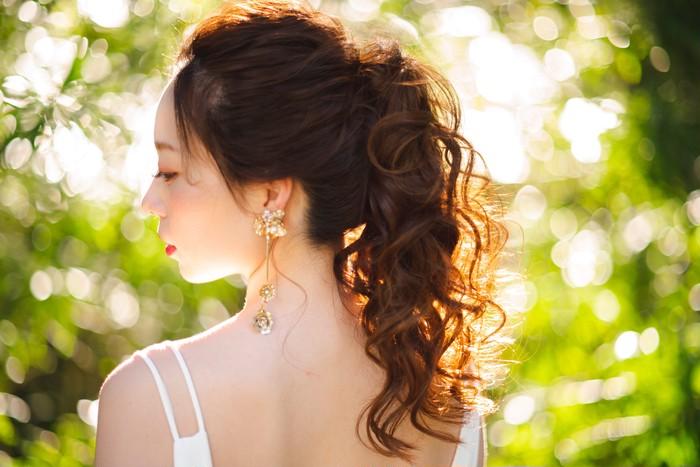 WEDDING・PARTYに 華やかさを演出するアシンメトリーピアス・イヤリング
