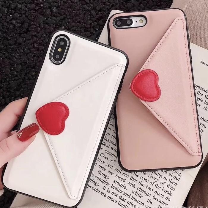 話題のインスタ映えデザイン♡ラブレター型ポケット付きiPhoneケースのご紹介です♪