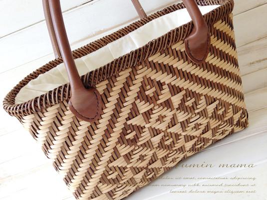 夏はやっぱり「かごバッグ」!籐作家の作った、本格派なカゴバッグを持ってランクアップしましょう♪