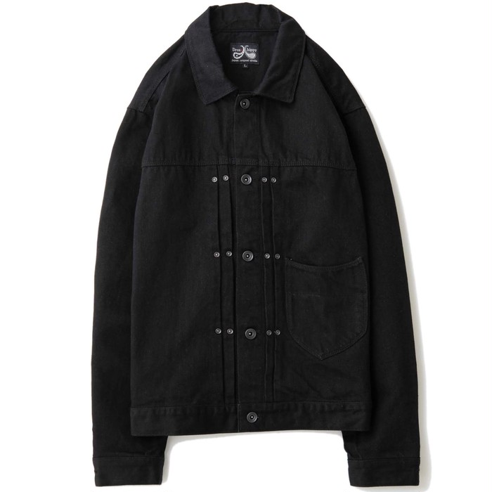DRESS HIPPY(ドレスヒッピー)/OLDMAN JACKET (BLACK)