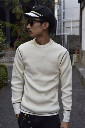 AT-DIRTY(アットダーティー)/HEAVY CREW THERMAL(NATURAL)