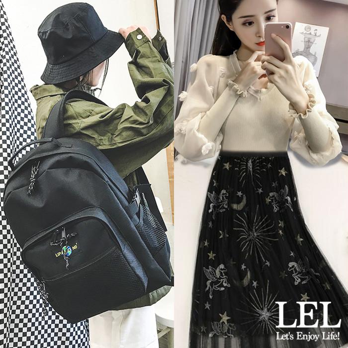 【12/6UP!】LELスタッフRENAがオススメ♡「ワンポイントブラックカラー」コーデのご紹介♪