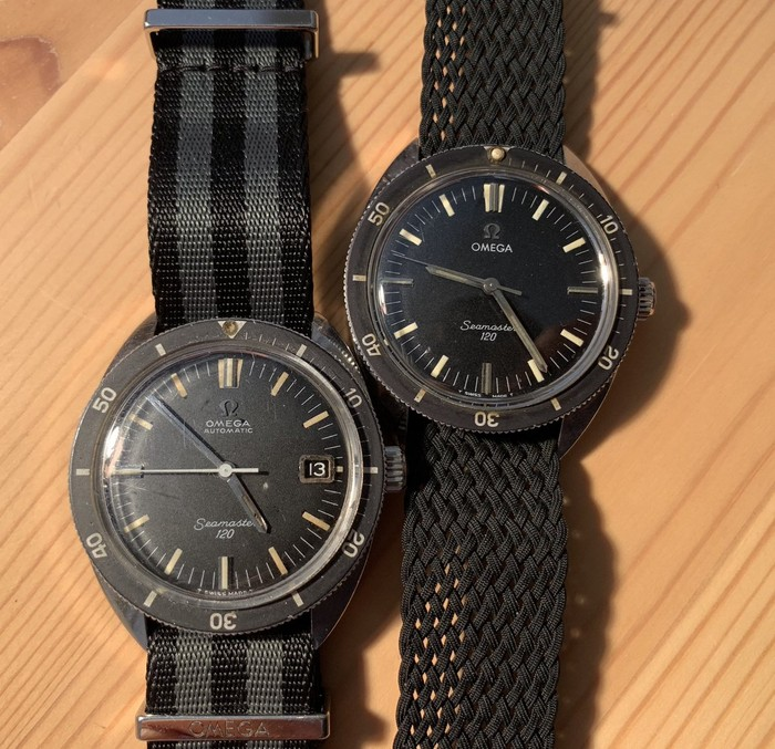 【OMEGA】 当店が一番得意とする時計 シーマスター120 ファーストモデル