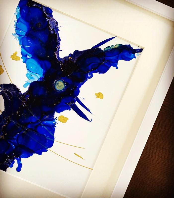誕生日をお祝い【 Happy Birthday ART 】ご主人へのプレゼント