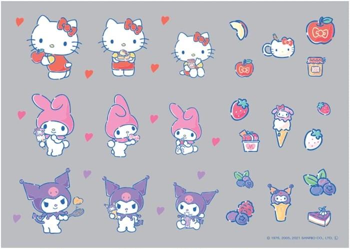 キティちゃんやマイメロディのirodoが新登場( *´艸`)