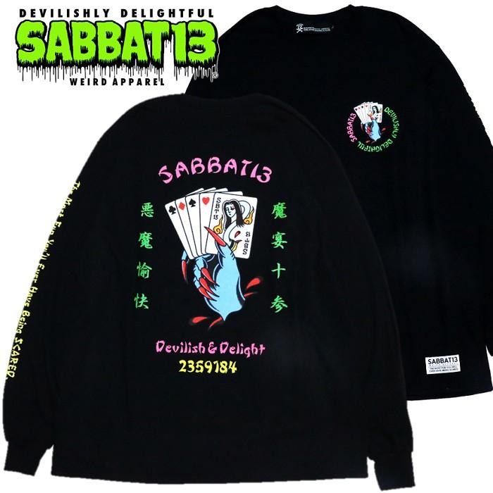 「SABBAT13 / サバトサーティーン」新作「YOKAI TRUMP L/S T」入荷!!