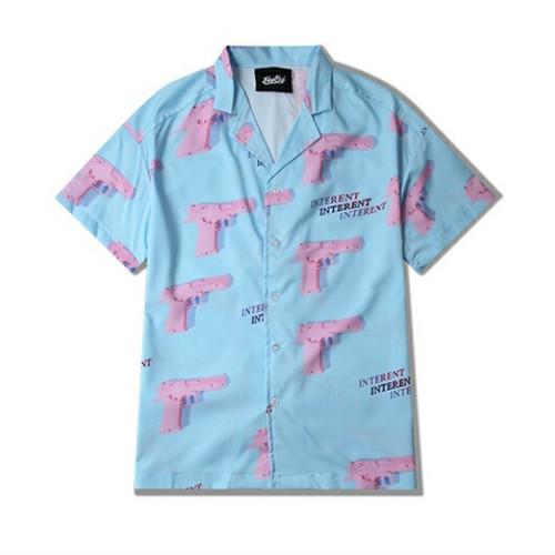 メンズユニセックスシャツ専門店!夏コーデおすすめ首元かいほうアイテム開襟シャツ