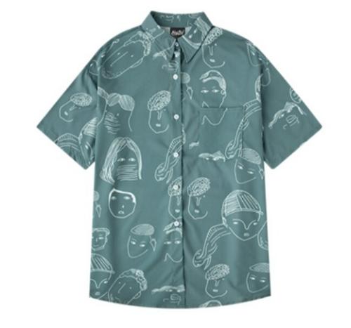 不安から安心へ!新スタートに笑いシャツ