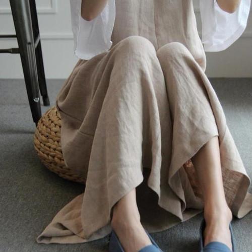 ☆彡大人気☆彡 ゆったり 綿 サロペット オーバーオール ワイドパンツ オールインワン XLサイズ