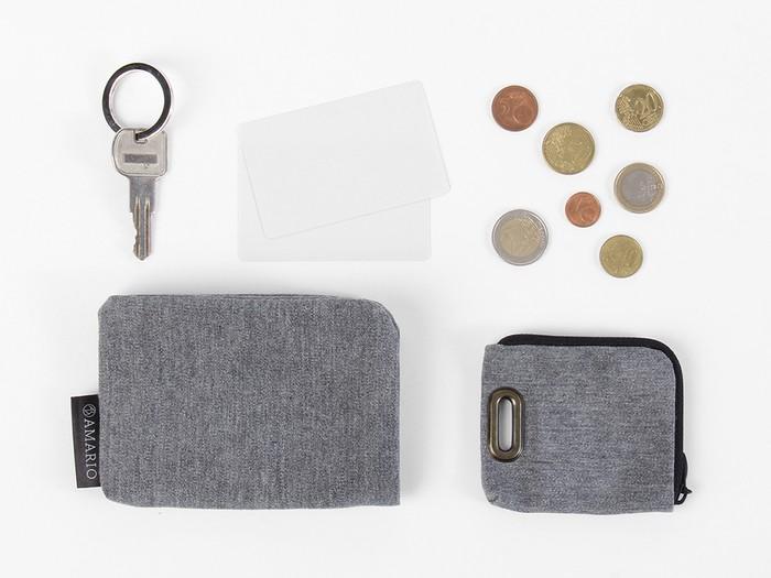 小銭入れ、定期入れ、使い方は自分次第。多機能なAMARIOのカードケース