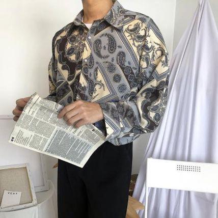 やっぱり秋も【ペイズリー柄シャツ】で大人の余裕を!!