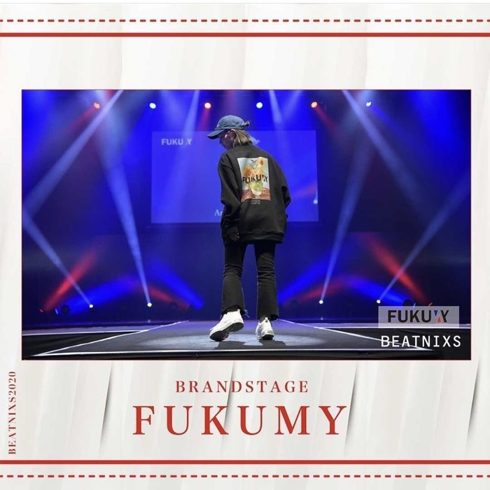 FUKUMY × BEATNIXS -BRAND STAGE- FASHION SHOW
