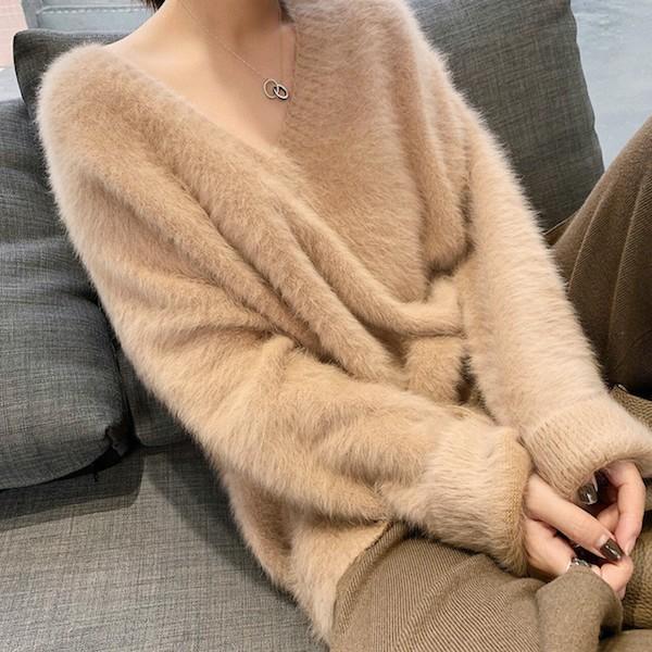 寒い季節に着たいモコモコ特集 ♪ ふんわりあったかニット&セーター