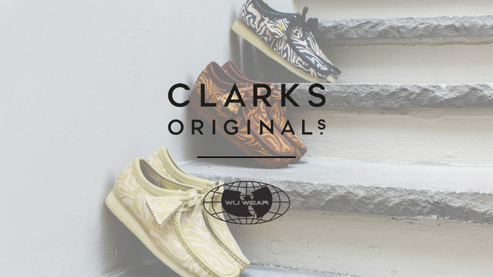 "『""Clarks × Wu-Tang Clan"" Wallabee Boot』"