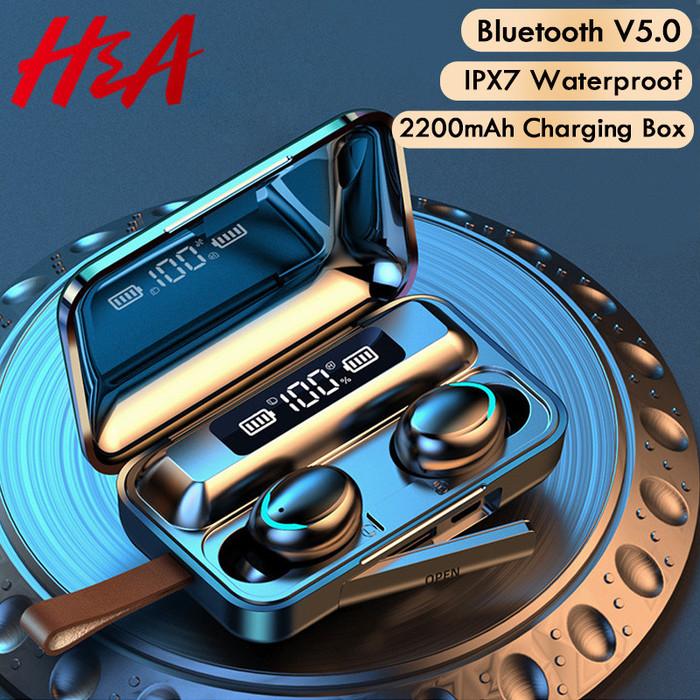 ~¥2,940円~ 防水&大容量バッテリー搭載!スマホも充電可能!K9ワイヤレス イヤホン 販売中!