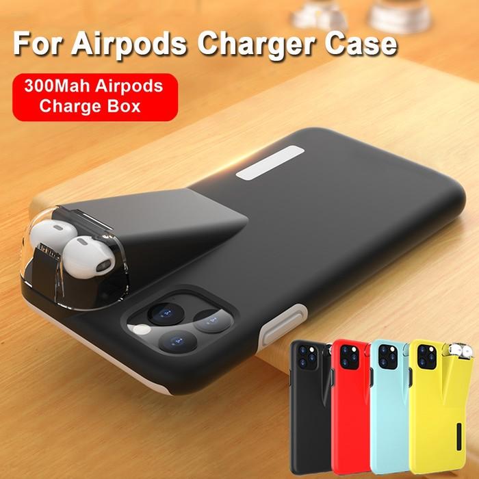 ~¥2,500円~ iPhone&AirPods&モバイルバッテリー 一体型ケース 販売中!