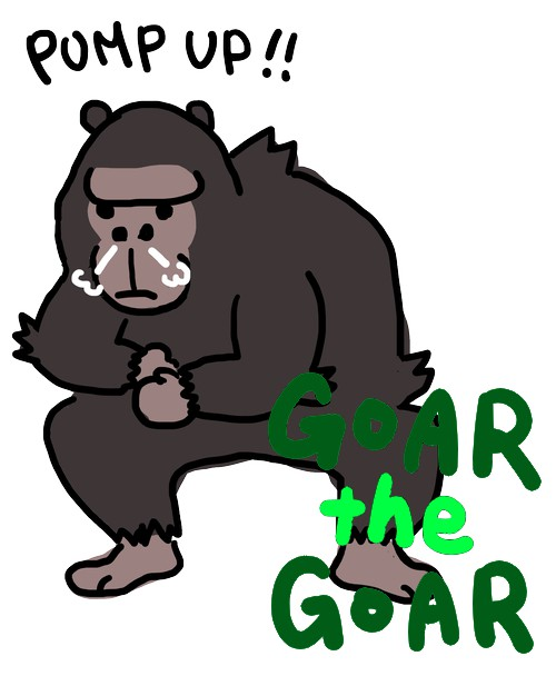 1stパンチ!【PUMP UP GOAR】