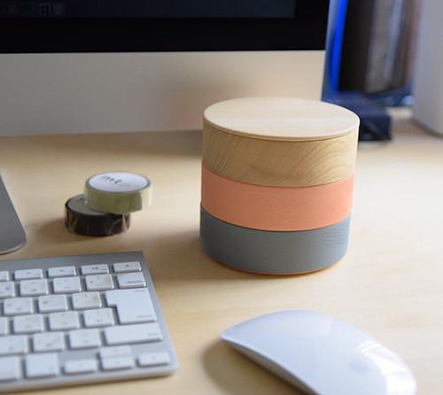 BORDERは、事務机まわりの小物を整理するのに最適!
