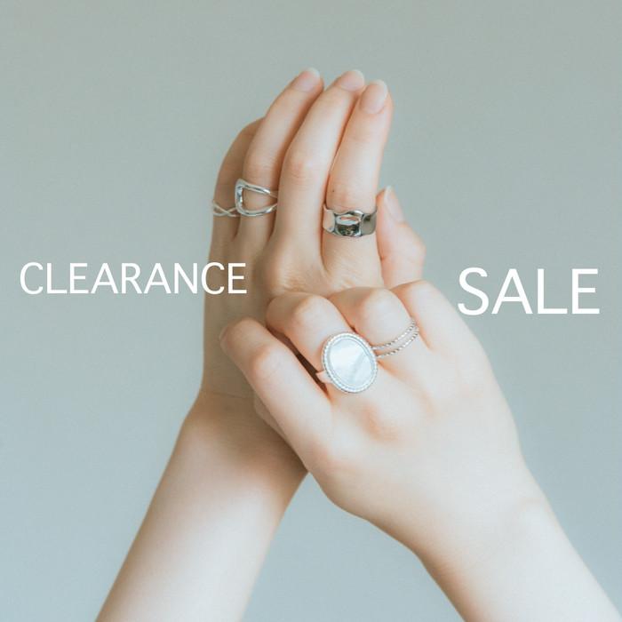 【SALE】10%~30% OFF ⛈ シルバー925リング/ピアス・イヤリング