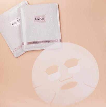ルビーセル バイオセルロース マスクの美容成分と使用方法について