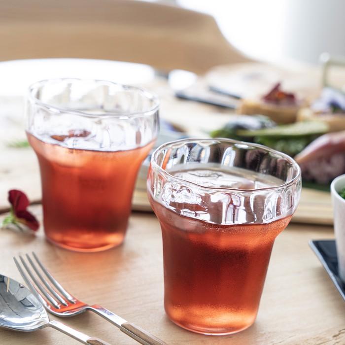 【floresta fabrica】夏にぴったり!透明度バツグンの手作りグラスのご紹介