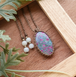 Ruby Zoisite Pastel Necklace