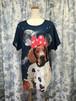 ルーク犬Tシャツ
