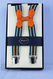 B&Tailor Stripe Suspender -Colorful サスペンダー