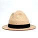 [curione] hole raffia hat
