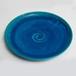 irori ブルー丸大皿