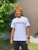GOMORI オリジナルTシャツ(ホワイト)